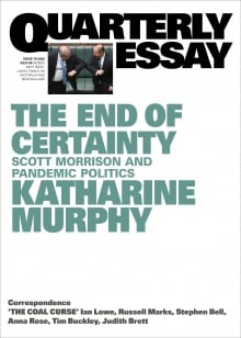 Cover of Quarterly Essay 79 by Katharine Murphy